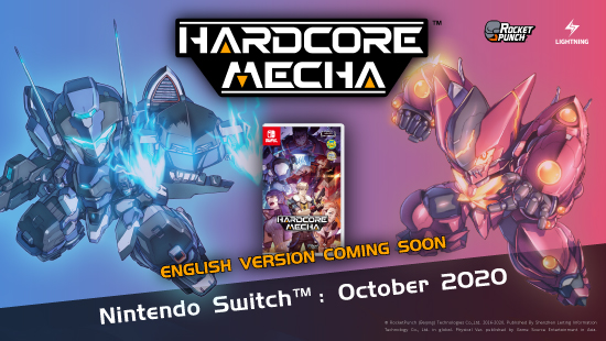 Lightning Games_Hit title HARDCORE MECHA coming on Switch